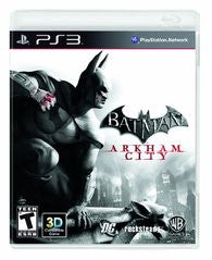Batman: Arkham City (Playstation 3 / PS3) Pre-Owned: Game, Manual, and Case