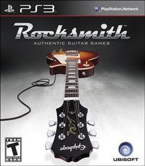 Rocksmith (Playstation 3) Pre-Owned: Game, Manual, and Case