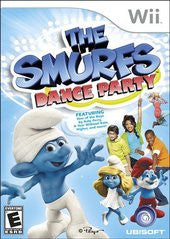 The Smurfs: Dance Party (Nintendo Wii) Pre-Owned: Game, Manual, and Case