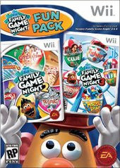 Hasbro Family Game Night Fun Pack (Nintendo Wii) Pre-Owned: Disc(s) Only