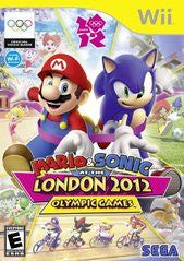 Mario & Sonic at the London 2012 Olympic Games (Nintendo Wii) Pre-Owned: Game, Manual, and Case