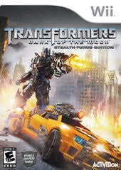 Transformers: Dark of the Moon Stealth Force Edition (Nintendo Wii) Pre-Owned: Disc(s) Only