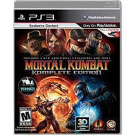 Mortal Kombat: Komplete Edition (Playstation 3) Pre-Owned: Game, Manual, and Case