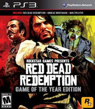 Red Dead Redemption: Game of the Year Edition (Playstation 3 / PS3) Pre-Owned: Game, Manual, and Case