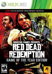 Red Dead Redemption: Game of the Year Edition (Xbox 360) Pre-Owned: Game, Manual, and Case