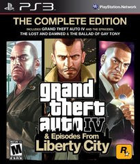 Grand Theft Auto IV & Episodes from Liberty City: The Complete Edition (Playstation 3) Pre-Owned: Game, Manual, and Case