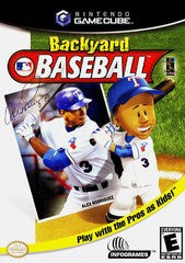 Backyard Baseball (Nintendo GameCube) Pre-Owned: Game, Manual, and Case