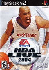NBA Live 2004 (Playstation 2 / PS2) Pre-Owned: Game, Manual, and Case
