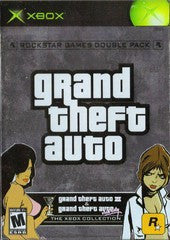 Grand Theft Auto Double Pack (Xbox) Pre-Owned: Games, Manuals, Cases, and Box