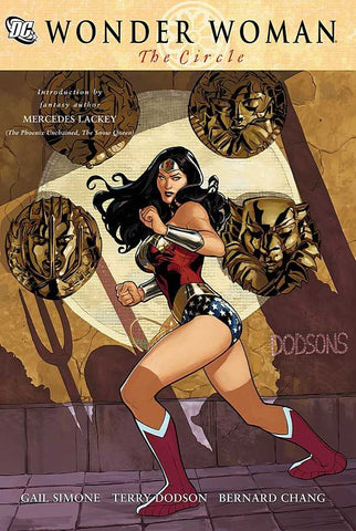 Wonder Woman: The Circle (Pre-Owned - Hardcover Book / Graphic Novel)