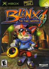 Blinx Time Sweeper (Xbox) Pre-Owned: Game, Manual, and Case