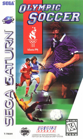 Olympic Soccer (Sega Saturn) Pre-Owned: Game, Manual, and Case