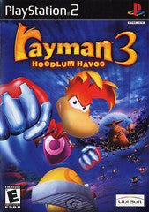 Rayman 3 Hoodlum Havoc (Playstation 2) Pre-Owned: Game, Manual, and Case
