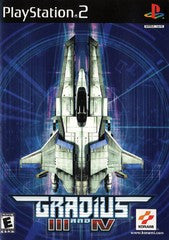 Gradius III & IV (Playstation 2 / PS2) Pre-Owned: Game, Manual, and Case
