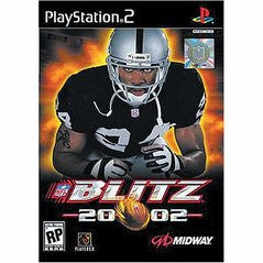 NFL Blitz 2002 (Playstation 2) Pre-Owned: Game, Manual, and Case