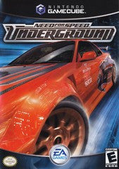 Need for Speed: Underground (Nintendo GameCube) Pre-Owned: Game, Manual, and Case