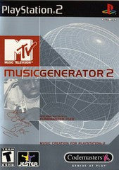 MTV Music Generator 2 (Playstation 2 / PS2) Pre-Owned: Game, Manual, and Case