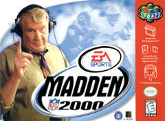 Madden 2000 Football (Nintendo 64 / N64) Pre-Owned: Cartridge Only