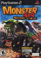 Monster 4x4: Masters Of Metal (Playstation 2) Pre-Owned: Game and Case