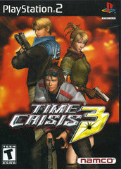 Time Crisis 3 (Playstation 2 / PS2) Pre-Owned: Game, Manual, and Case