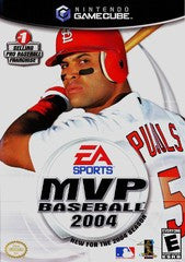 MVP Baseball 2004 (Nintendo GameCube) Pre-Owned: Game, Manual, and Case