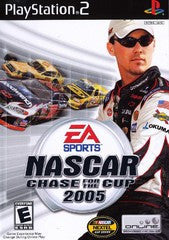 NASCAR Chase for the Cup 2005 (Playstation 2 / PS2) Pre-Owned: Game, Manual, and Case