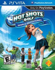 Hot Shots Golf World Invitational (Playstation Vita) Pre-Owned: Cartridge Only