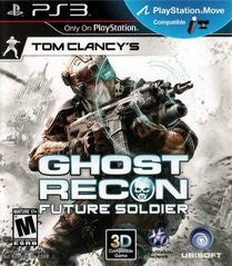 Ghost Recon: Future Soldier (Tom Clancy's) (Playstation 3 / PS3) Pre-Owned: Game, Manual, and Case