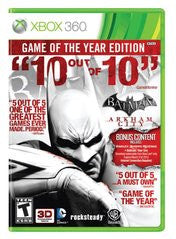 Batman: Arkham City Game Of The Year (Xbox 360)