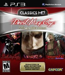 Devil May Cry HD Collection (Playstation 3) Pre-Owned: Game, Manual, and Case