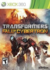 Transformers: Fall of Cybertron (Xbox 360) Pre-Owned: Game, Manual, and Case