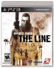 Spec Ops The Line (Playstation 3) Pre-Owned: Game, Manual, and Case