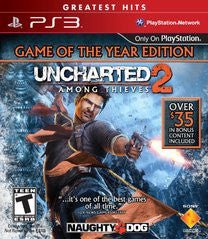 Uncharted 2: Among Thieves Game of Year Edition (Playstation 3) Pre-Owned: Game, Manual, and Case