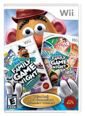 Hasbro Family Game Night 1 and 2 Bundle (Nintendo Wii) Pre-Owned: Game and Case