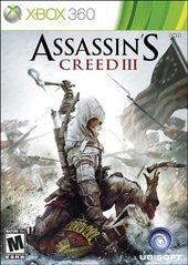 Assassin's Creed III (Xbox 360) Pre-Owned: Game, Manual, and Case