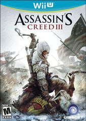 Assassin's Creed III (Nintendo Wii U) Pre-Owned: Game, Manual, and Case