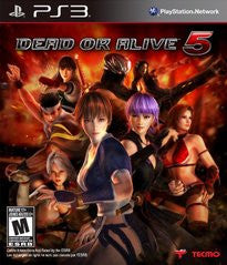 Dead or Alive 5 (Playstation 3) Pre-Owned: Game, Manual, and Case