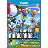 New Super Mario Bros. U (Nintendo Wii U) Pre-Owned: Game, Manual, and Case
