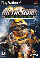 Metal Arms Glitch in the System (Playstation 2) Pre-Owned: Game, Manual, and Case