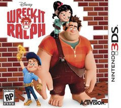 Wreck-It Ralph (Nintendo 3DS) Pre-Owned: Game, Manual, and Case