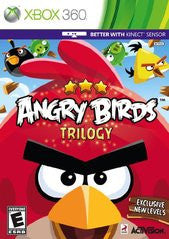Angry Birds Trilogy (Xbox 360) Pre-Owned: Game, Manual, and Case