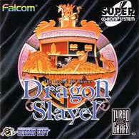 Dragon Slayer: The Legend of Heroes (TurboGrafx 16 CD / Super CD-Rom 2 System / TurboDuo) Pre-Owned: Game, Manual, and Case