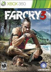 Far Cry 3 (Xbox 360) Pre-Owned: Game, Manual, and Case