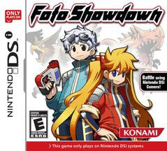 Foto Showdown (Nintendo DS) NEW