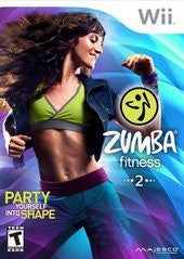 Zumba Fitness 2 (Nintendo Wii) Pre-Owned: Game, Manual, and Case