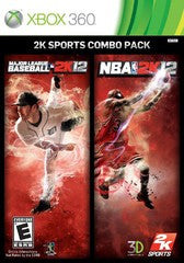 MLB 2K12 / NBA 2K12 (Xbox 360) Pre-Owned: Game, Manual, and Case