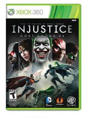 Injustice: Gods Among Us (Xbox 360) Pre-Owned: Game, Manual, and Case