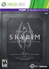 The Elder Scrolls V: Skyrim - Legendary Edition (Xbox 360) Pre-Owned: Game, Manual, and Case