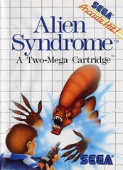 Alien Syndrome (Sega Master System) Pre-Owned: Game and Case