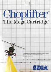 Choplifter (Sega Master System) Pre-Owned: Game, Manual, and Case